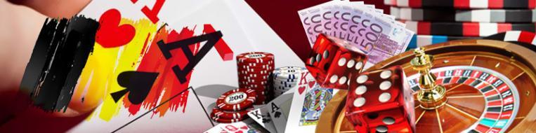 jeux cartes roulette dé Belgique